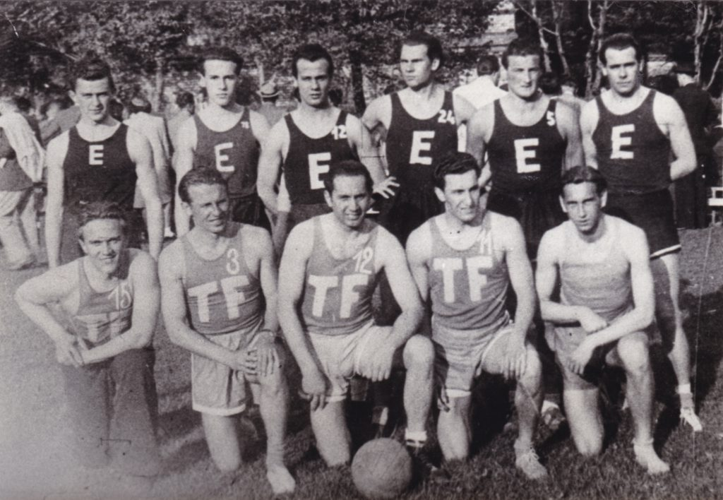 A BEAC-os férfi kosárlabda csapat a magyar bajnokság mellett az 1943. évi főiskolai bajnokságot is megnyerte
