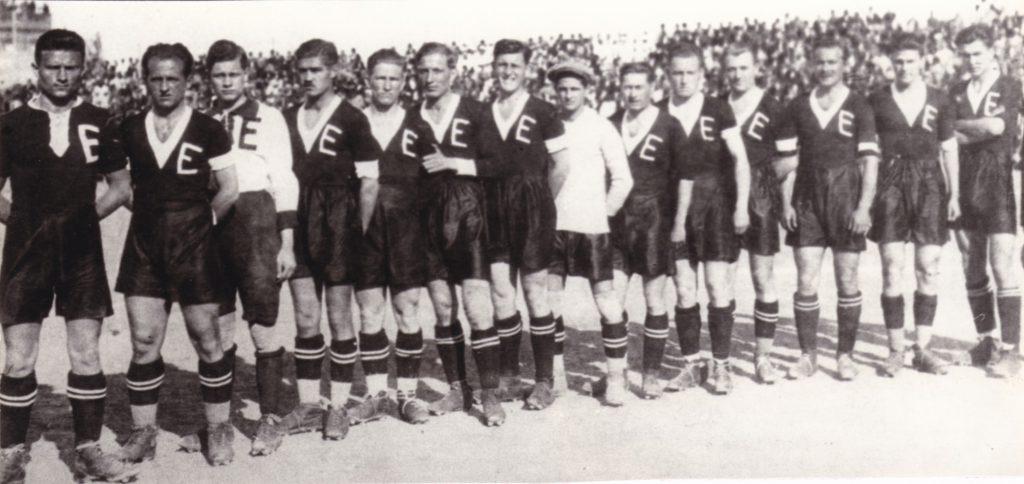 Az 1924/25-ben az NBI-ben szereplő BEAC csapat (Horváth, Boór, Fróniusz, Szántó, Kertész, Marczinkó, Kotraschek, Gaál, Pluhár, Pesovnik, Sághy, Kovács, Gábry, Stofián)