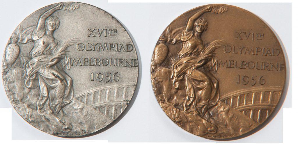 Marosi József két olimpiai érmet is nyert az 1956-os olimpián: párbajtőr csapatban egy ezüstöt a szintén Haladásos Nagy Ambrussal, és egy bronzérmet a tőr csapat tagjaként Gyuricza Józseffel karöltve
