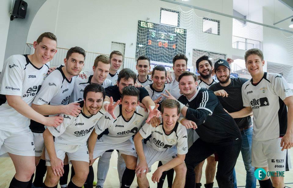 A tavalyi bronzérmes ELTE-PPK Futsal csapata